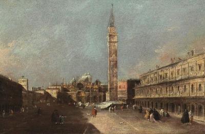 Francesco Guardi (Venezia 1712-1793) Piazza San Marco a Venezia