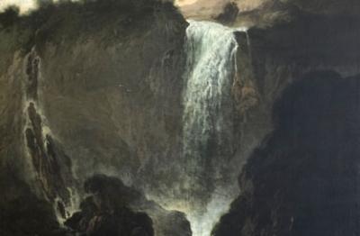 Pittore attivo alla fine del XVII secolo, Cascata delle Marmore
