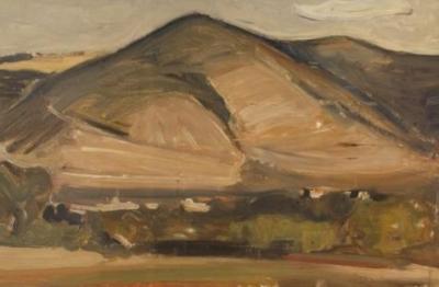 Carlo Quaglia, (Terni 1903-Roma 1970), La montagna di Acquasparta