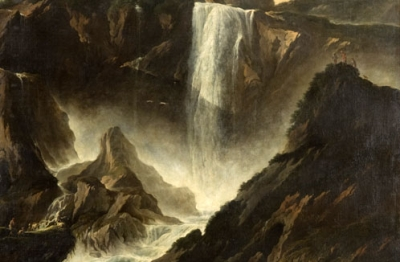 Philip Peter Roos, (Francoforte 1655 o 1657-Roma 1706), Veduta della Cascata delle Marmore