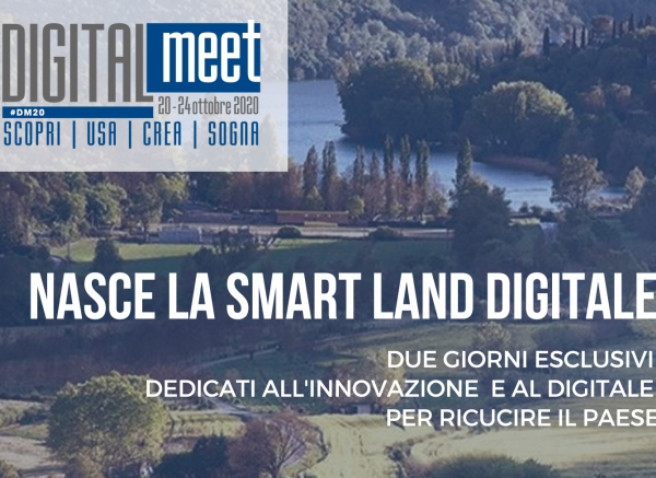 16-17 ottobre 2020 Preopening DigitalMeet a Piediluco e Terni
